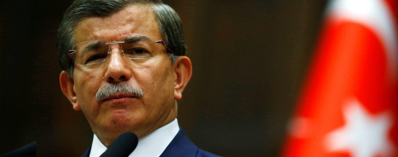 Турецький прем'єр вирішив піти у відставку через незгоду з Ердоганом