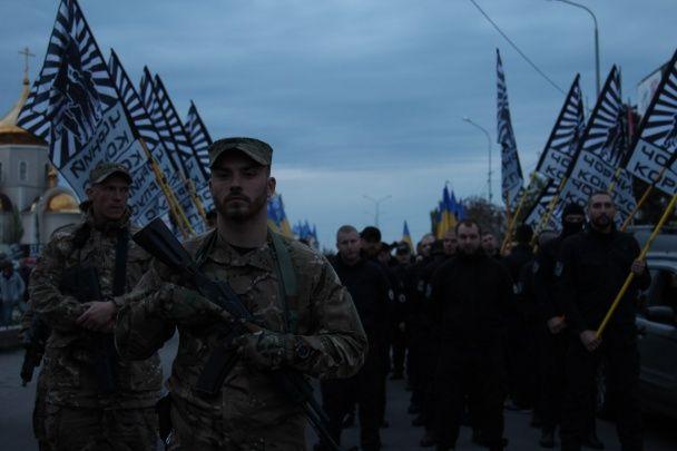 """У Бердянську відбувся святковий марш """"Азову"""""""