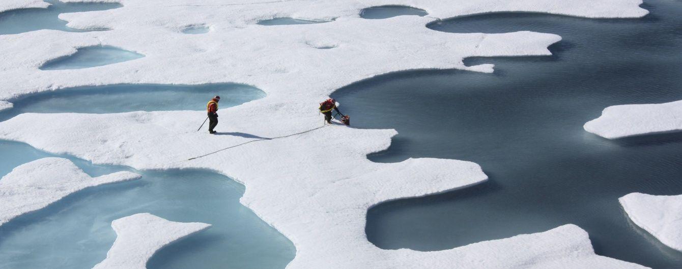 Учені фіксують зміну кольору Арктики