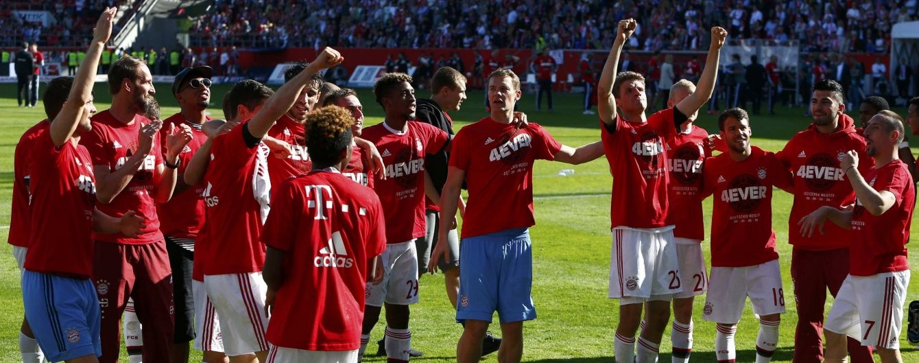 """""""Баварія"""" вчетверте поспіль виграла чемпіонат Німеччини"""