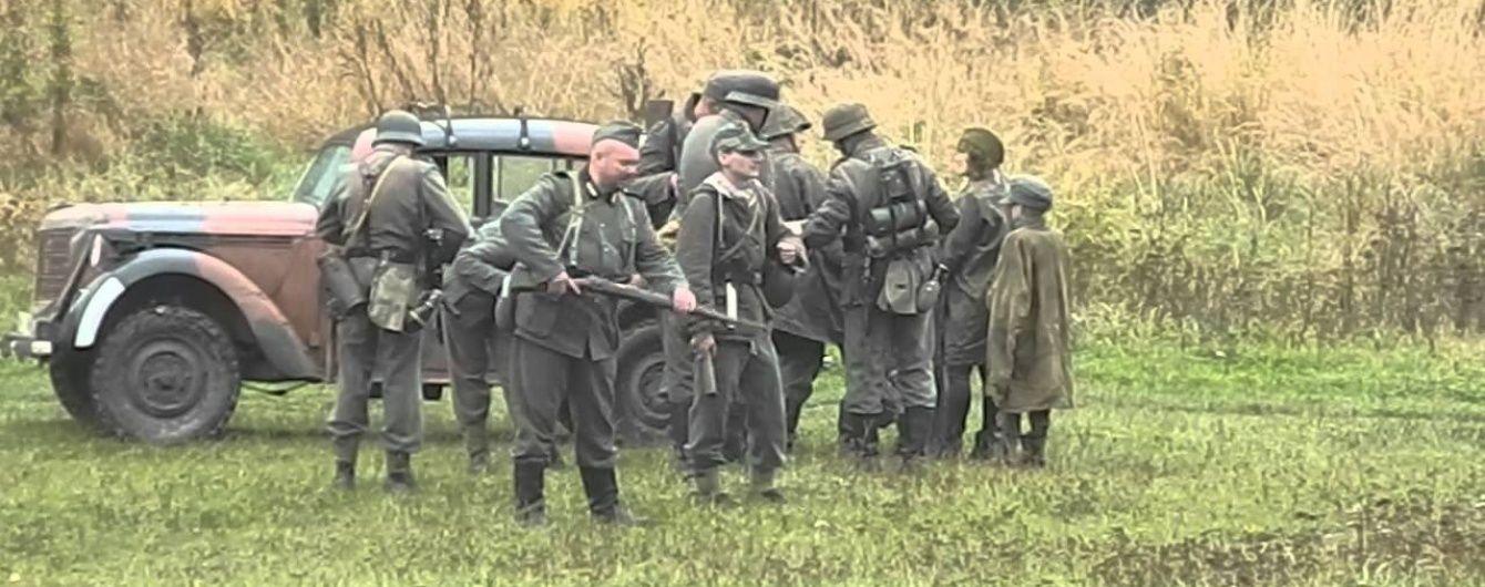 Під Києвом реконструювали бій УПА з німцями