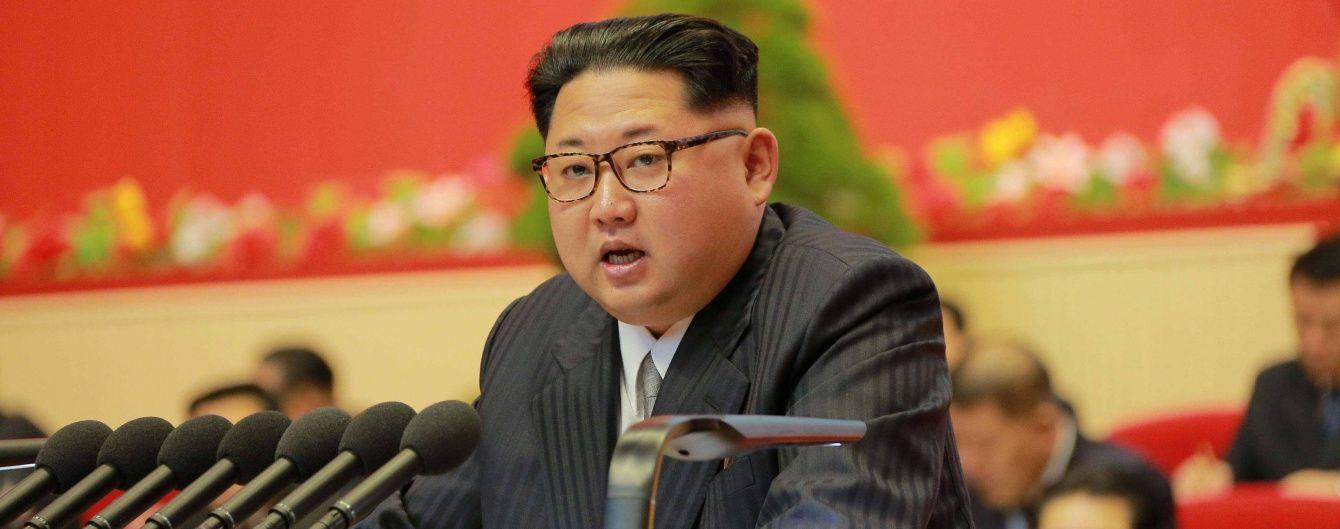 КНДР назвала оголошенням війни персональні санкції США проти Кім Чен Ина