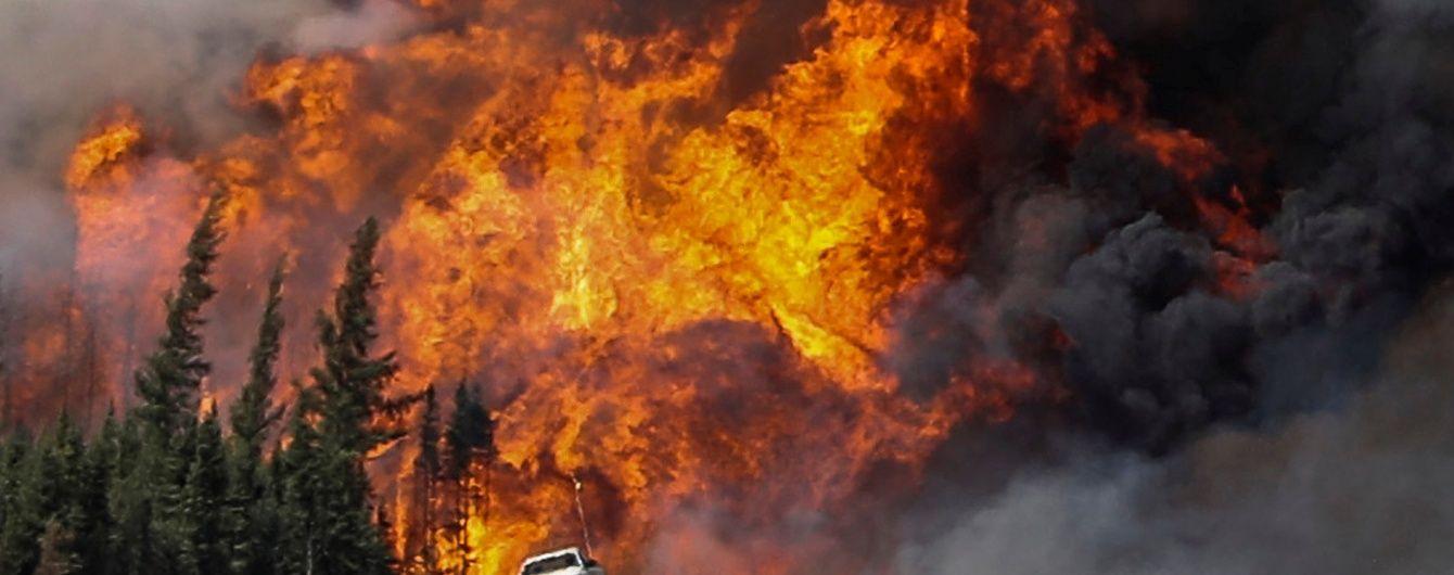 Тысячи эвакуированных: в Канаде бушуют лесные пожары