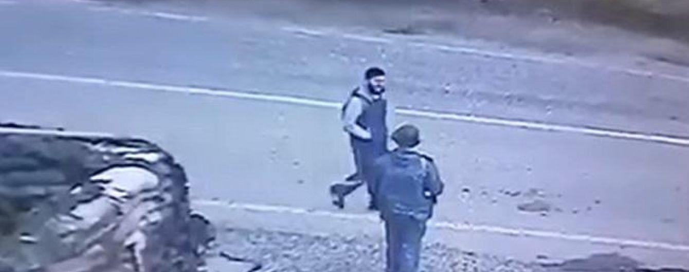 У Мережі з'явилося відео вибуху смертника в Грозному