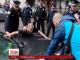 Харківський поліцейський, який отримав поранення в голову, залишається в лікарні