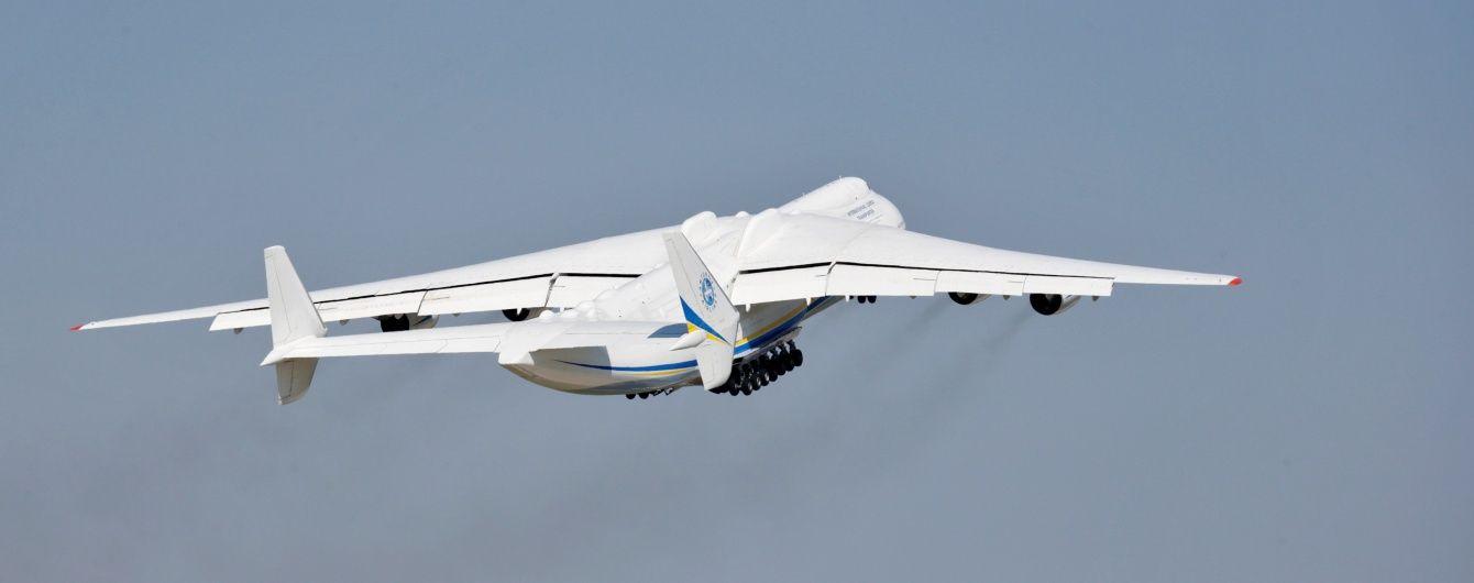 На що здатен найбільший у світі транспортний літак АН225. Інфографіка