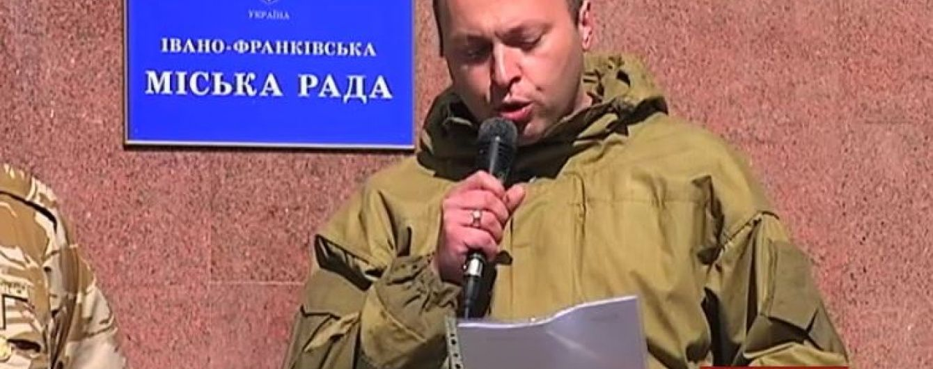 У Івано-Франківську сотні ветеранів АТО збираються ініціювати імпічмент меру