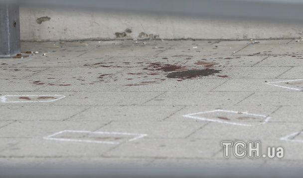 Кривавий вокзал: у Мережі з'явились фото з місця нападу на залізничній станції біля Баварії
