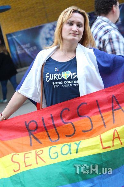 """ЛГБТ-спільнота підтримала Лазарєва на """"Євробаченні"""""""