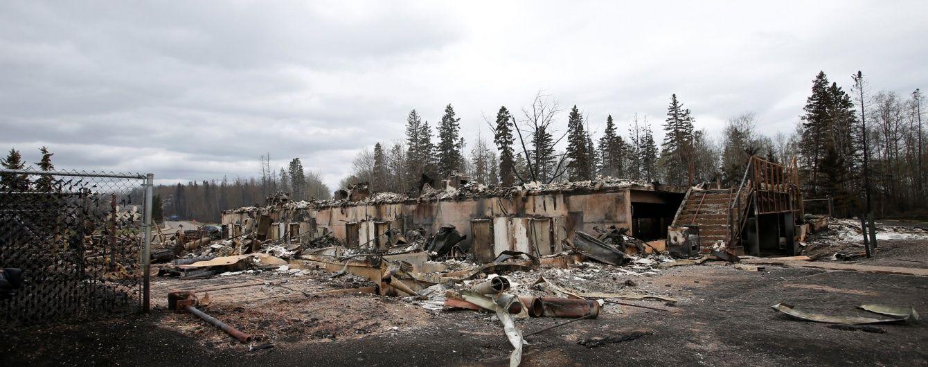 У канадській Альберті згоріло селище нафтовиків