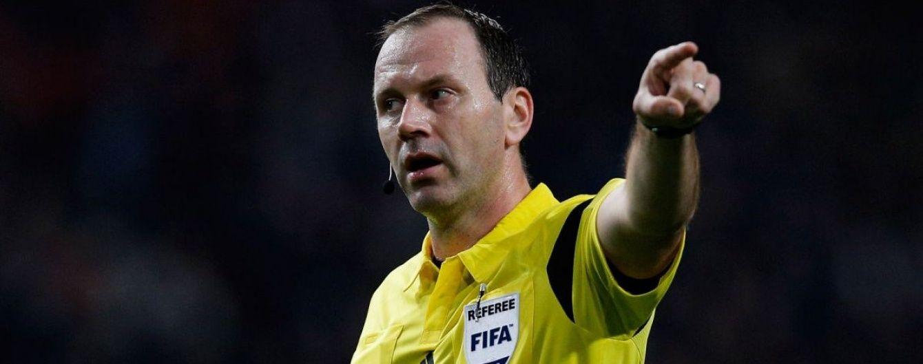 Фінал Ліги Європи довірили судити шведському арбітрові
