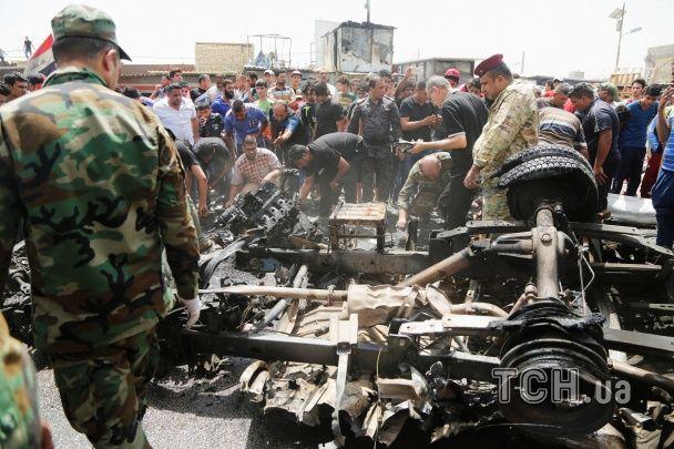 У Багдаді на ринку вибухнуло авто, щонайменше 50 осіб загинуло