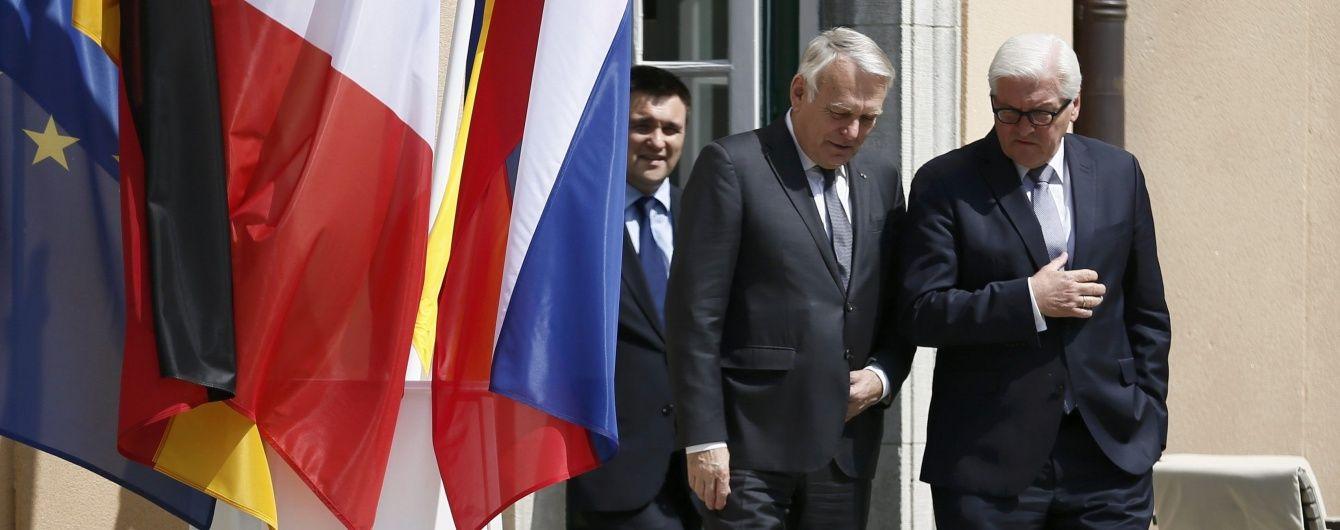 Штайнмайєр та Еро почули про комедійне перемир'я і пообіцяли не визнавати виборів у Криму