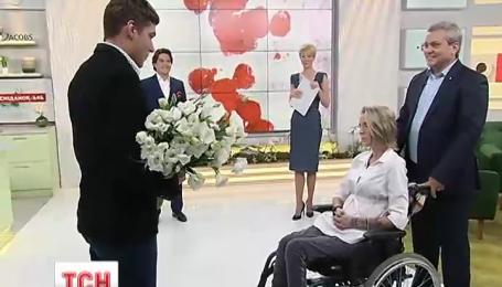 Яне Зинкевич предложили выйти замуж в прямом эфире Сниданок с 1+1