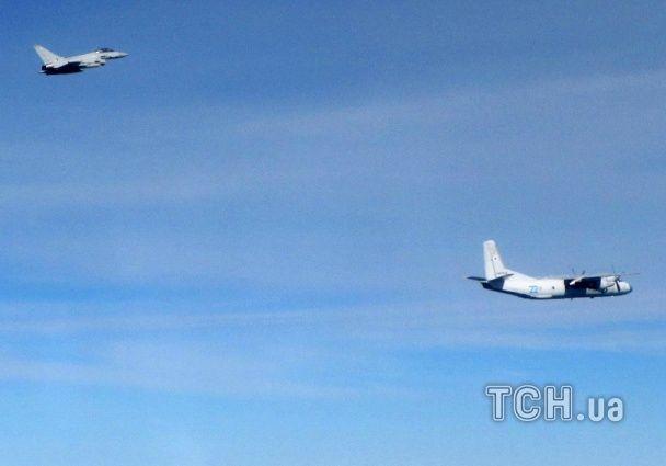 Британські винищувачі перехопили три літаки РФ над Балтійським морем