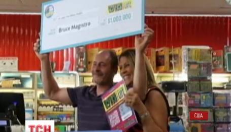 Американец во второй раз выиграл в лотерею миллион долларов