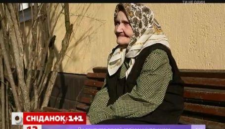 Виктор Бронюк купил кабана для столетней Галины Антоновны