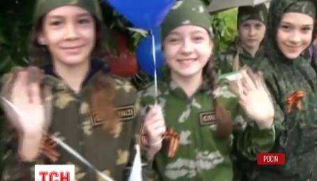В Ростове провели военный парад с участием детей