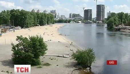 Пляжный сезон уже послезавтра официально откроют в Киеве
