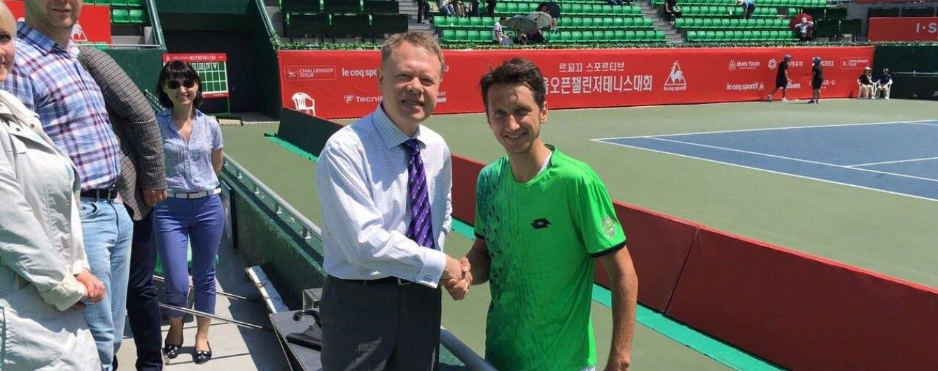 Український тенісист Стаховський обіграв росіянина та вийшов у фінал турніру в Сеулі