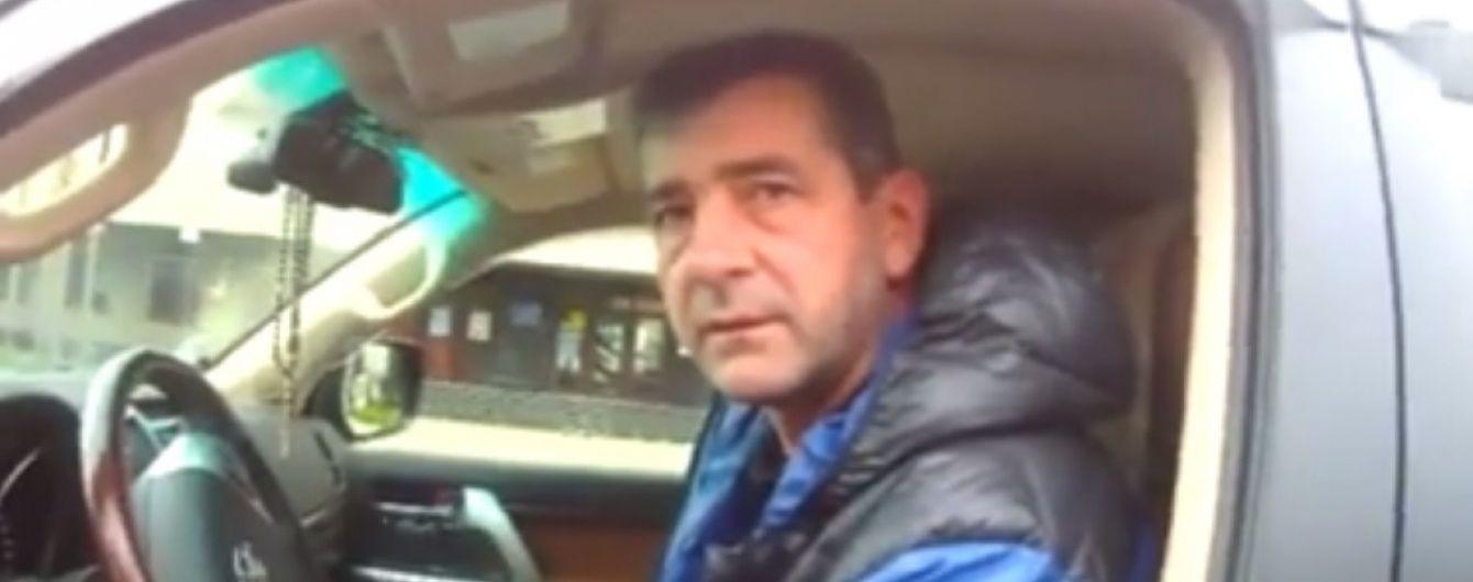 В Ивано-Франковске патрульные дважды оштрафовали депутата облсовета (Видео)