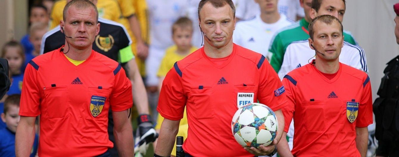 Арбітр з російським паспортом продовжив працювати на матчах чемпіонату України, попри заяву ФФУ