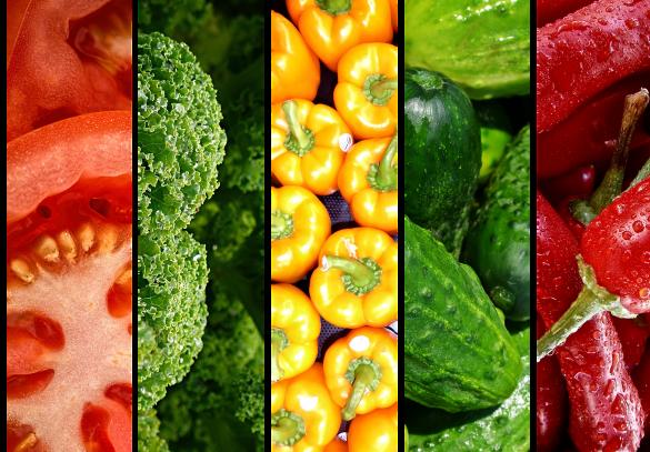 Овочі, фрукти, веганство