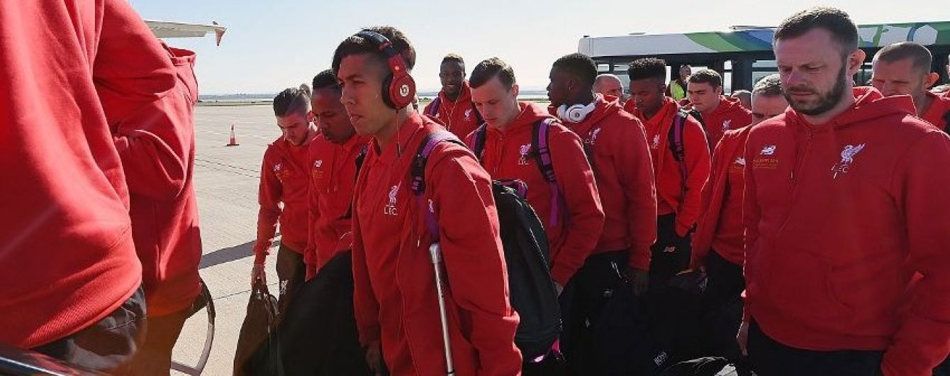 """""""Ліверпуль"""" відправився до Базеля на фінал Ліги Європи"""