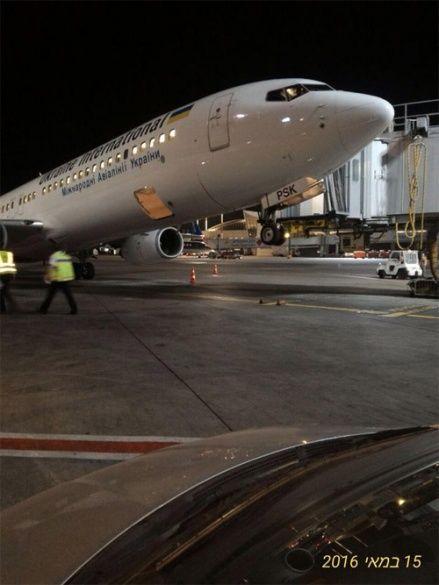 літак мау в ізраїлі
