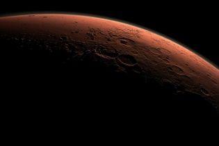 Ученые показали снимки водных каньонов на Марсе