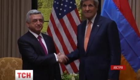 Президенти Вірменії та Азербайджану провели першу зустріч з моменту загострення конфлікту