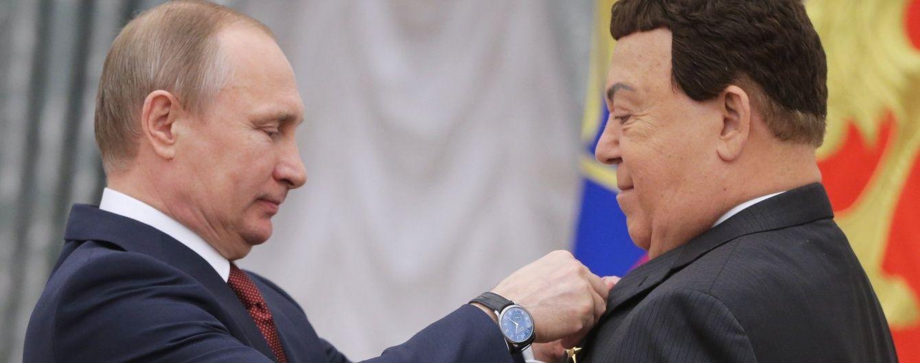 Непосильная ноша. Кобзон пожаловался, что из-за Крыма страдает скудный российский бюджет