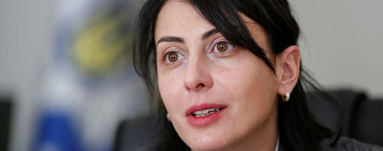 Деканоідзе поскаржилася на недобір патрульних поліцейських у всій Україні