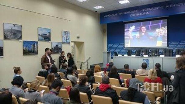 """Прес-конференція переможниці """"Євробачення 2016"""" Джамали. Онлайн-трансляція"""