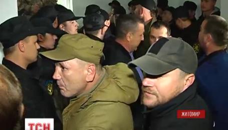 В Житомире подрались бойцы АТО и охранники частной фирмы