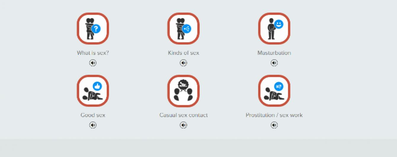 Німецький уряд запустив відвертий сайт з лікнепом по сексу для мігрантів