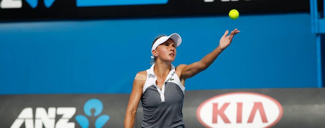 Українська тенісистка Цуренко пробилася до чвертьфіналу турніру в Німеччині