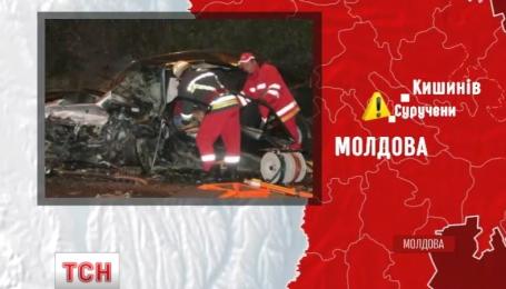 Один українець та двоє громадян Молдови загинули у ДТП поблизу Кишиніву