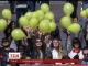 Близько сорока студентів університету Шевченка провели акцію в пам'ять про жертв депортації