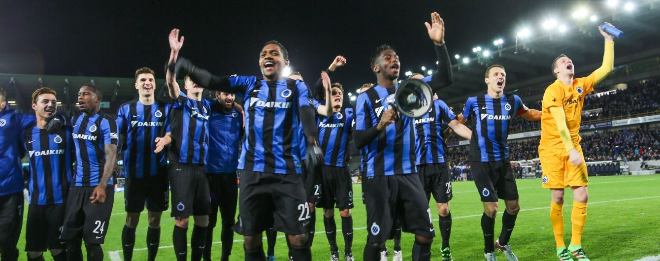 """Фанатка """"Брюгге"""" влаштувала п'яний стриптиз з нагоди чемпіонства команди у бельгійській лізі"""