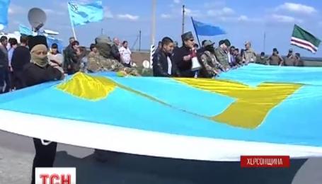 В Чонгаре состоялась масштабная акция памяти депортированных татар в 1944 году