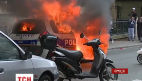 Митинг полицейских в Париже завершился столкновениями