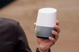 Google представив домашнього голосового помічника