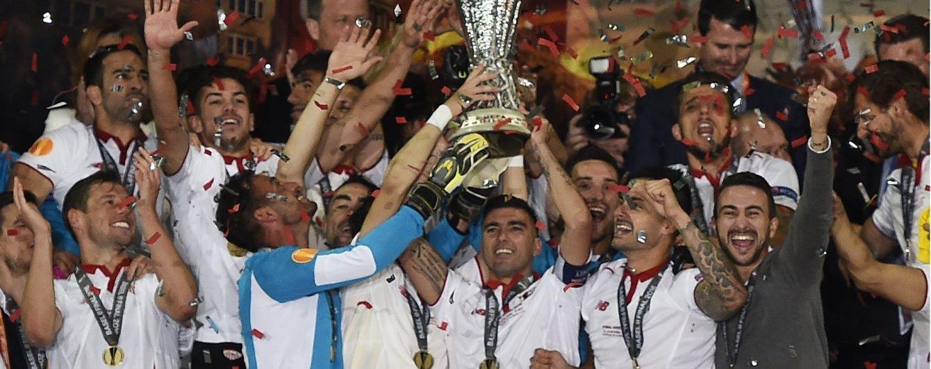 """Футболісти """"Севільї"""" влаштували танці у літаку після перемоги у Лізі Європи"""