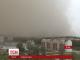 Піщана буря накрила китайське місто Арал