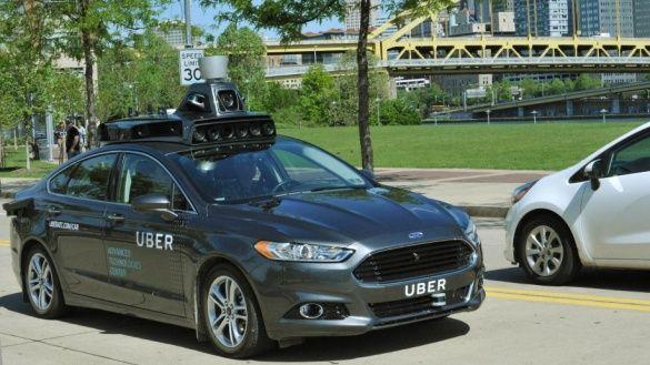 Uber уперше показав свій безпілотний автомобіль