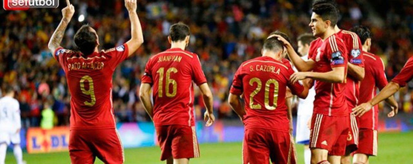 Збірна Іспанії: представляємо учасника Євро-2016