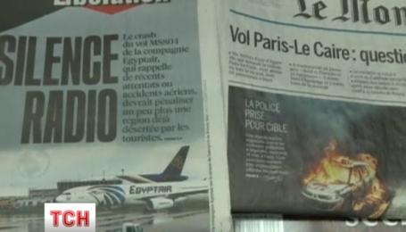 Спасателям удалось напасть на след пропавшего самолета авиакомпании EgyptAir