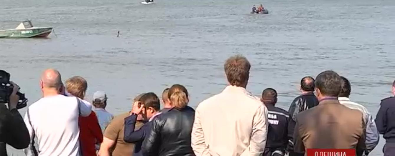 Пошук тіл загиблих дітей у Дністровському лимані завершено
