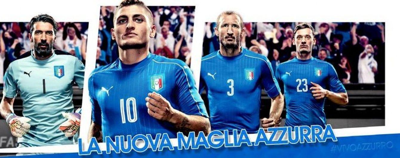 Збірна Італії: представляємо учасника Євро-2016